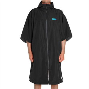 New product.... full water resistant hooded towel.