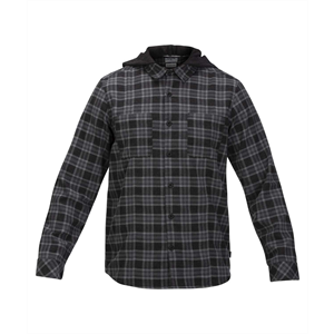 Win20 HURLEY CROWLED LS HD FLANNEL-mens-Blitz Surf Shop
