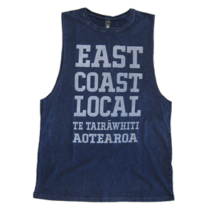 EAST COAST LOCAL STONEWASH MUSCLE TEE-new arrivals-Blitz Surf Shop