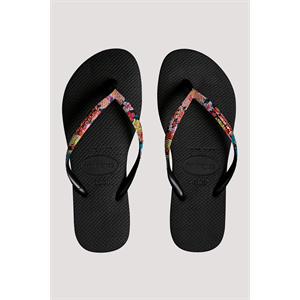 HAVAIANAS SLIM STRAPPED FLOWERS SANDALS-footwear-Blitz Surf Shop