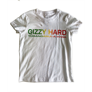 GIZZY HARD KIDS RASTA CHEST PRINT TEE-new arrivals-Blitz Surf Shop