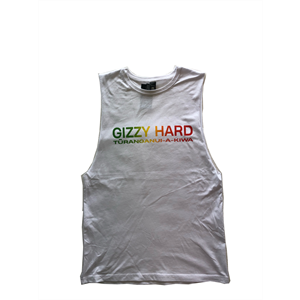 GIZZY HARD RASTA CHEST PRINT MUSCLE-new arrivals-Blitz Surf Shop