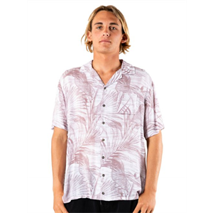 Sum20 RUSTY PALMS UP SS RAYON SHIRT-mens-Blitz Surf Shop
