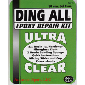 DING ALL EPOXY SURFBOARD REPAIR KIT - DING ALL S12/13 : Surf