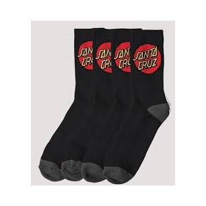 Sum20 SANTA CRUZ YOUTH SOCK 4 PACK-childrens-Blitz Surf Shop