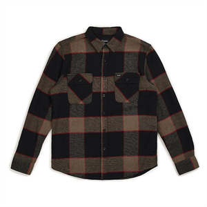 Win21 BRIXTON BOWERY L/S FLANNEL-mens-Blitz Surf Shop
