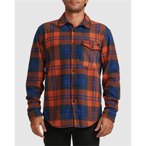 Win21 BILLABONG FURNACE FLANNEL LS SHRT-new arrivals-Blitz Surf Shop