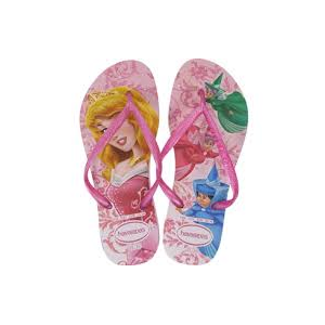HAVAIANAS KIDS SLIM PRINCESS JANDALS-footwear-Blitz Surf Shop
