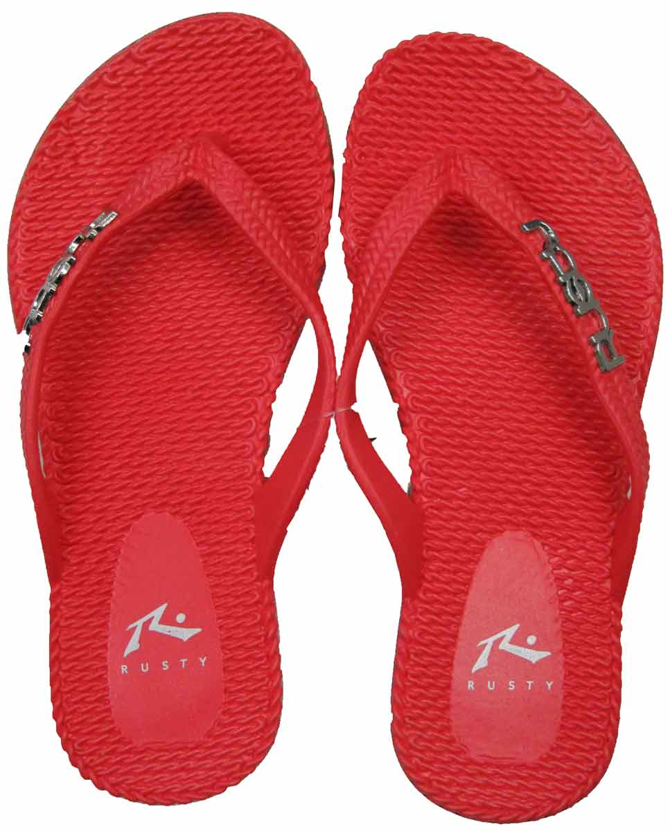 2ed018ab1 Sum17 RUSTY GIRLS FLIPPIN THONGS - RUSTY S17 18   Sale-Footwear   Blitz  Surf Shop NZ - Surf