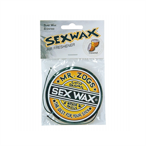 SEXWAX CAR AIR FRESHNER-air fresheners-Blitz Surf Shop