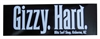 Gizzy Hard stickers